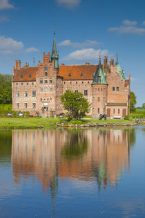 Denmark, Funen, Egeskov, Egeskov Castle, exterior von Danita Delimont
