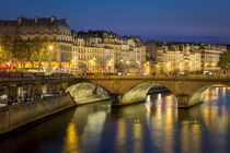 Pont Neuf and the buildings along River Seine, Paris France by Danita Delimont
