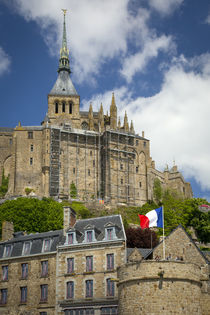 Mont Saint-Michel, Normandy, France by Danita Delimont