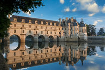 First light of morning on Chateau Chenonceau, Indre-et-Loire... von Danita Delimont