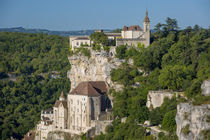 Medieval town of Rocamadour, Lot Valley, Midi-Pyrenees, France von Danita Delimont