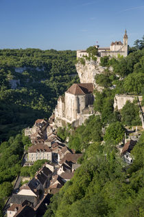 Medieval pilgrimage town of Rocamadour, Quercy, Midi-Pyrenees, France by Danita Delimont