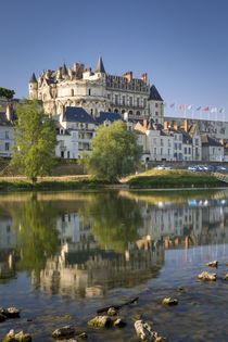 Early morning below Chateau d'Amboise, Amboise, Indre-et-Loi... von Danita Delimont