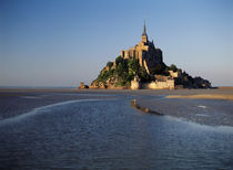 France, Normandy, View of Mont Saint-Michel von Danita Delimont