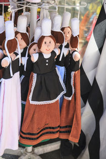 Dolls of Traditional Breton Women by Danita Delimont