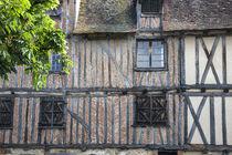 Residential Street in Bergerac, France von Danita Delimont