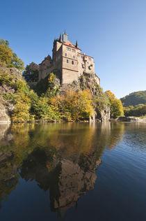 Kriebstein Castle and Zschopau River, Germany. by Danita Delimont