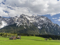 Karwendel mountain range near Mittenwald, Germany by Danita Delimont