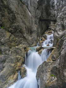 Hoellentalklamm gorge near Garmisch-Partenkirchen,Germany by Danita Delimont