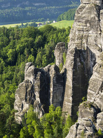 NP Saxon Switzerland, Saxony, Germany by Danita Delimont