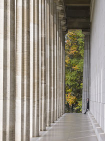 Walhalla or Walhalla Temple,Bavaria, Germany by Danita Delimont