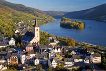 Germany, Rhineland-Palatinate, Rhine valley, Lorch am Rhein von Danita Delimont