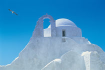 Typical Greek architecture, Mykonos, Greece by Danita Delimont