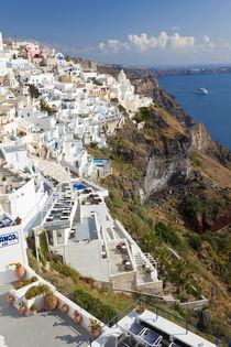 Fira, Santorini, Cyclades, Greece von Danita Delimont