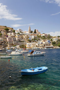 Symi Town, Symi Island, Dodecanese Islands, Greece von Danita Delimont