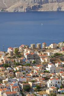 Symi Town, Symi Island, Dodecanese Islands, Greece by Danita Delimont