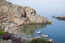St Pauls Bay Lindos Rhodes Island Dodecanese Greece von Danita Delimont