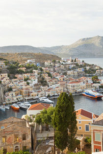 Symi Town, Symi Island, Dodecanese Islands, Greece by Danita Delimont