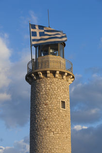 Greece, Peloponnese, Patra, Patra Lighthouse, dawn von Danita Delimont
