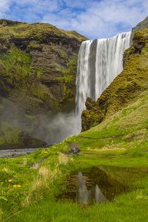 Europe, Iceland, Skogafoss von Danita Delimont