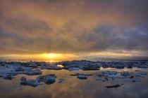 Europe, Iceland, Jokulsarlon Glacier Lagoon von Danita Delimont