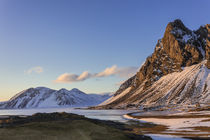 Vikurfjall mountain and the Ring Road in southeastern Iceland by Danita Delimont