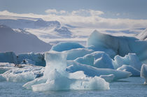 East Region. Jokulsarlon. Glacial lake. Icebergs in the lake. by Danita Delimont