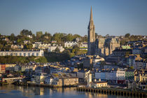 St. Coleman Church and harbor town of Cobh, the RMS Titanic'... von Danita Delimont