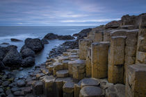 Twilight over the Giant's Causeway along the northern coast,... von Danita Delimont