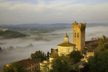 Sunrise over San Miniato, Tuscany, Italy by Danita Delimont