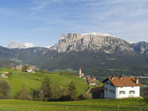 view towards the Seiser alm, South Tyrol, Italy by Danita Delimont