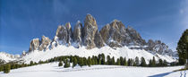 Geisler mountain range, South Tyrol,Italy by Danita Delimont