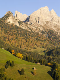 Rosengarten massif in the Dolomites of South Tyrol by Danita Delimont