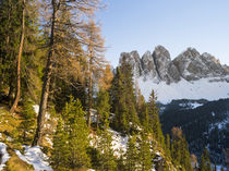 Geisler Mountain Range, Dolomites, South Tyrol, Italy by Danita Delimont