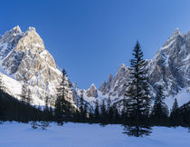 Valley Fischleintal, Sexten dolomites, Italy by Danita Delimont