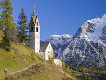 Chapel Barbarakapelle in Wengen, Italy von Danita Delimont