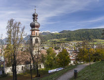 Bruneck or Brunico, South Tyrol, Italy by Danita Delimont