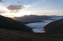 Wolkenmeer am Pass von ysanne