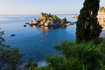 View of Isola Bella island, Taormina, Sicily, Italy by Danita Delimont