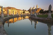 Statues and Basilica di Santa Giustina, Padova, Italy by Danita Delimont