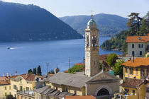 View over Moltrasio, Lake Como, Italy by Danita Delimont