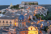Ragusa at dusk, Sicily, Italy by Danita Delimont
