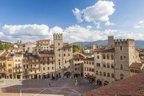 Piazza Grande, Arezzo, Val di Chiana, Arezzo district, Tuscany, by Danita Delimont