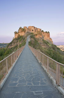 Bridge to Civita at Sunset von Danita Delimont