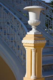 Statue Vase Pillar by Danita Delimont