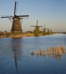 Kinderdijk Windmills, Holland by Danita Delimont