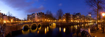 Amsterdam Canal Panorama by Danita Delimont