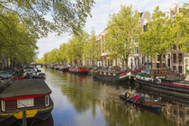 Canal, Amsterdam, Holland, Netherlands by Danita Delimont