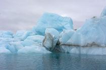Svalbard. Nordaustlandet Island. Brasvelbreen. Turquoise ice... von Danita Delimont