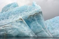 Svalbard. Spitsbergen. Hornsund. Brepollen. Icebergs with te... by Danita Delimont